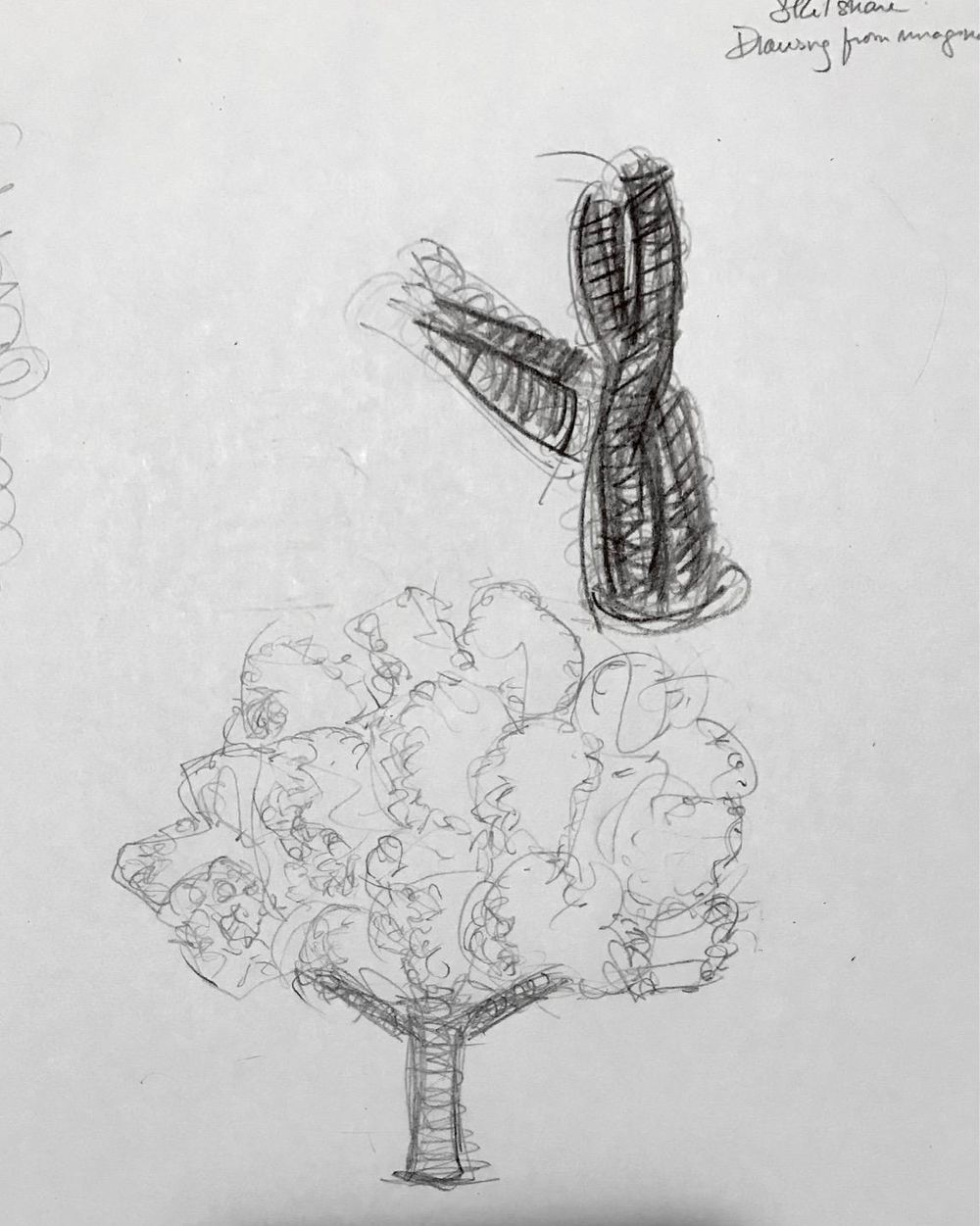 Drawing from imagination - image 1 - student project