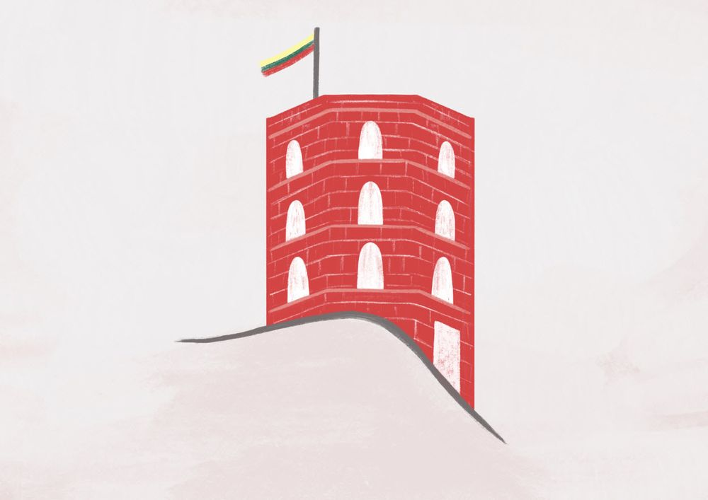 Vilnius, Lithuania - Illustrated map - image 4 - student project