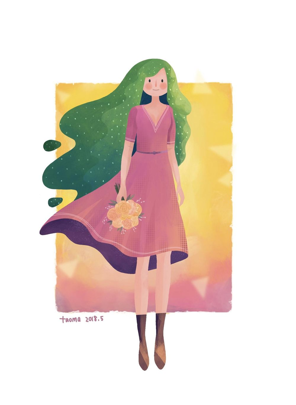 girl - image 1 - student project