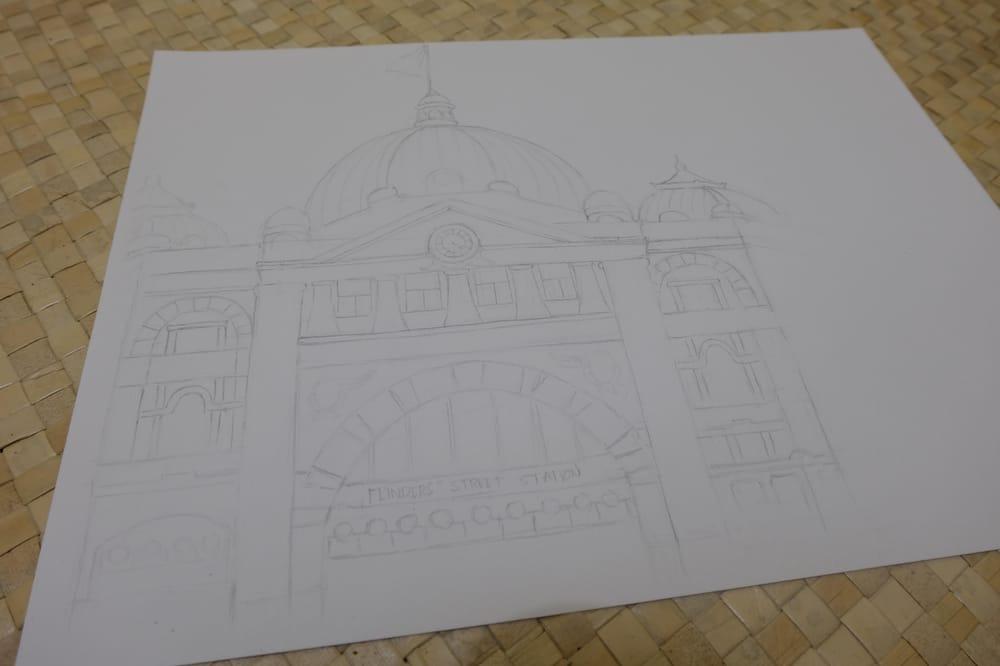 Flinders Street Station - image 1 - student project