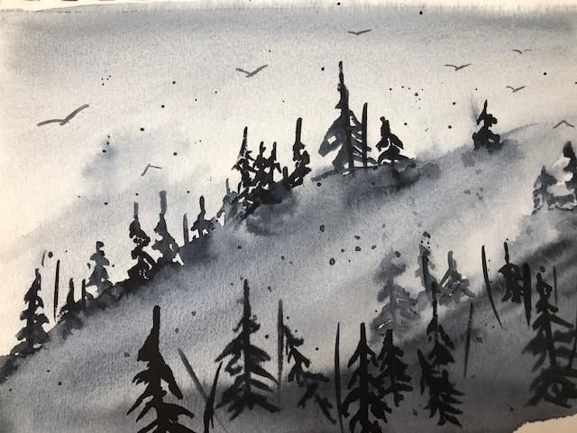 Monochromatic landscapes (complete) - image 1 - student project