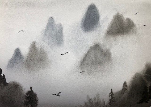 Monochromatic landscapes (complete) - image 4 - student project