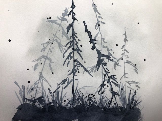 Monochromatic landscapes (complete) - image 3 - student project