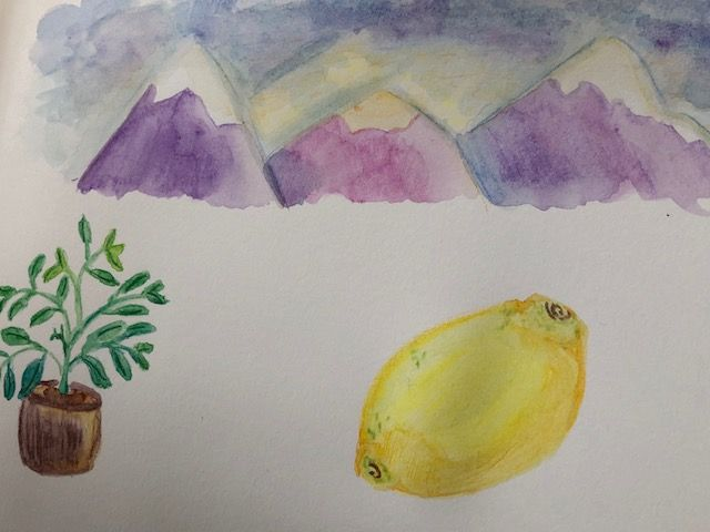 Watercolor Pencil Practice - image 1 - student project