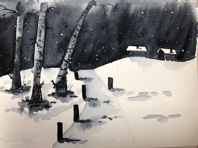 Monochromatic landscapes (complete) - image 2 - student project