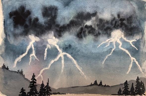 Lightning Storm - image 1 - student project
