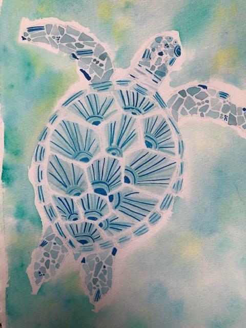 Sea Turtle - image 1 - student project