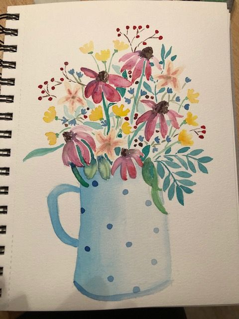 Flowers in Vase - image 1 - student project