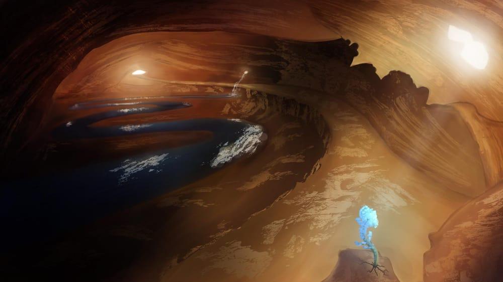 Hidden Cave Flower - image 3 - student project