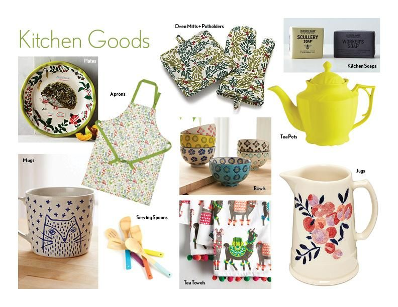 Kitchen Goods - image 1 - student project