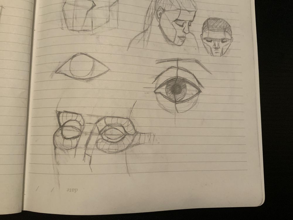 Facial features - image 1 - student project