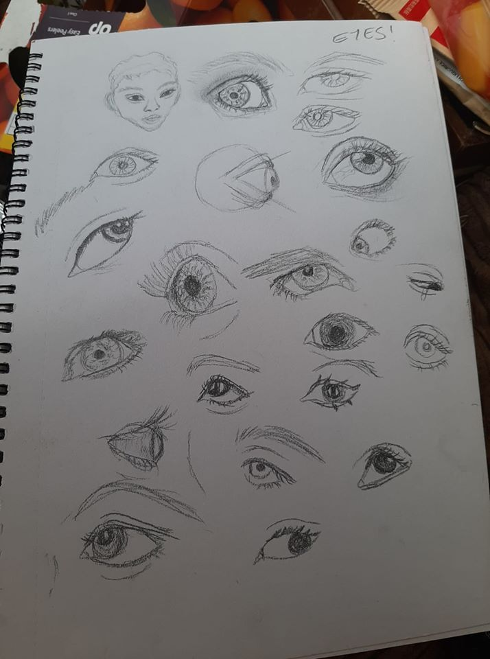 eyes (and one face) - image 1 - student project