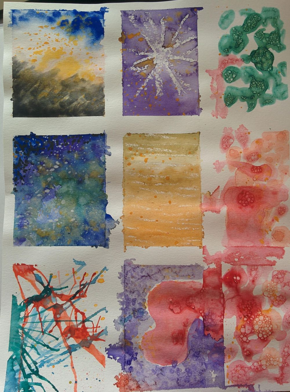 Watercolor effects as shown by Engenia Sudargo - image 2 - student project