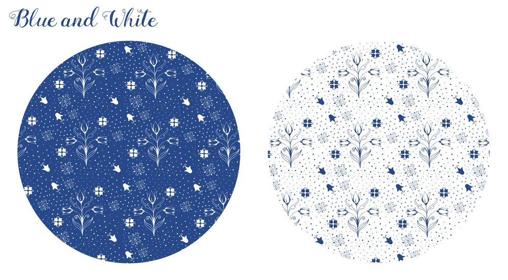 Blue and White - image 4 - student project