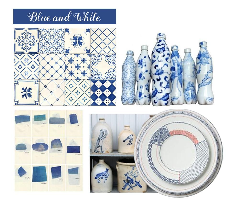 Blue and White - image 1 - student project