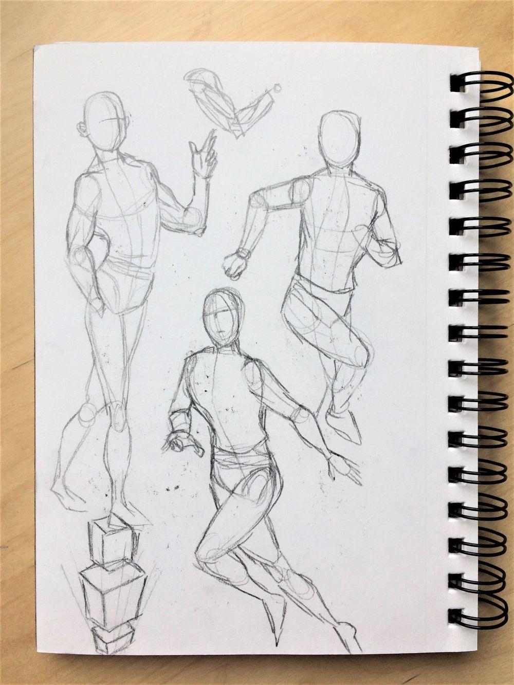 Figure Studies - image 1 - student project