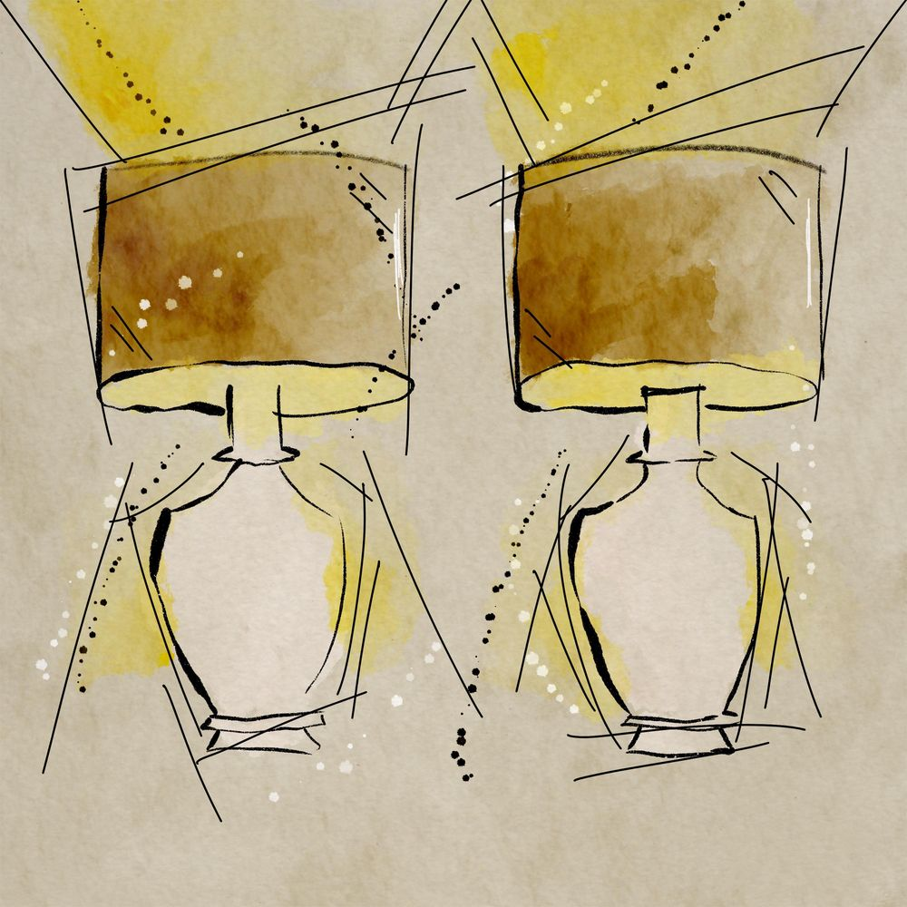 Sketchy lamps - image 1 - student project
