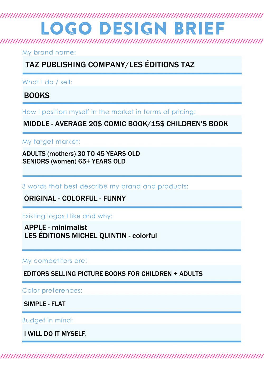 Taz Publishing Co. - image 6 - student project