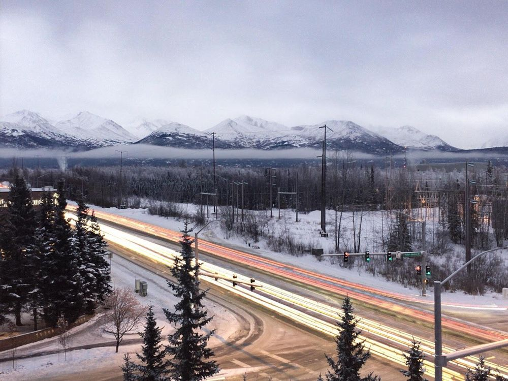 Winter daylight in Anchorage, AK - image 2 - student project