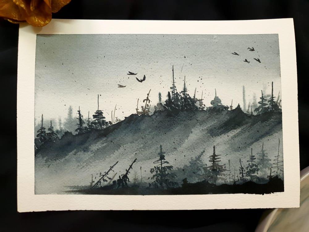 Monochrome Snowscapes - image 1 - student project