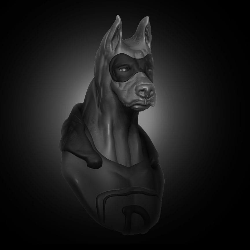 Dober-Man - image 1 - student project