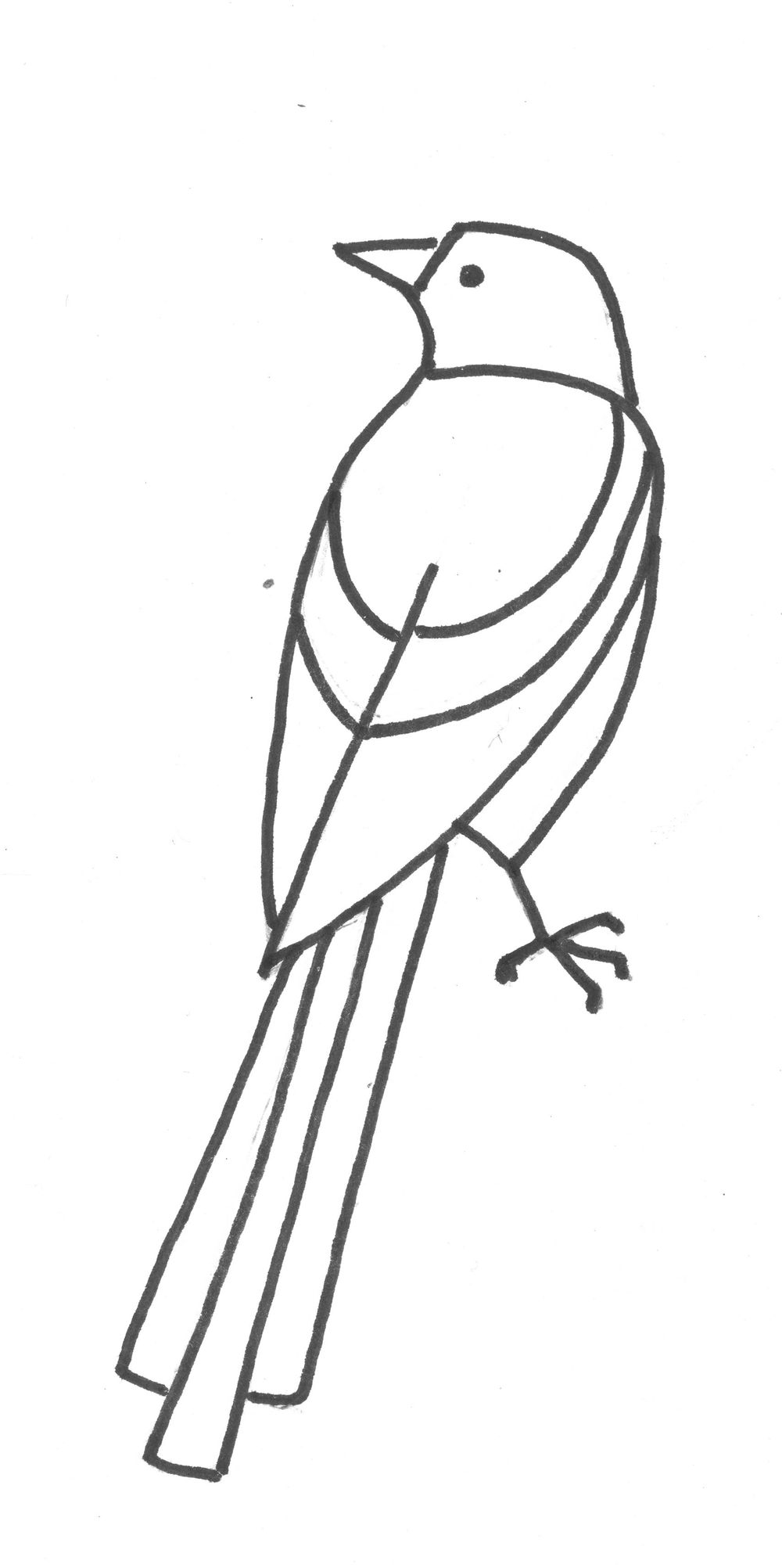 Lined-up Birds - image 1 - student project