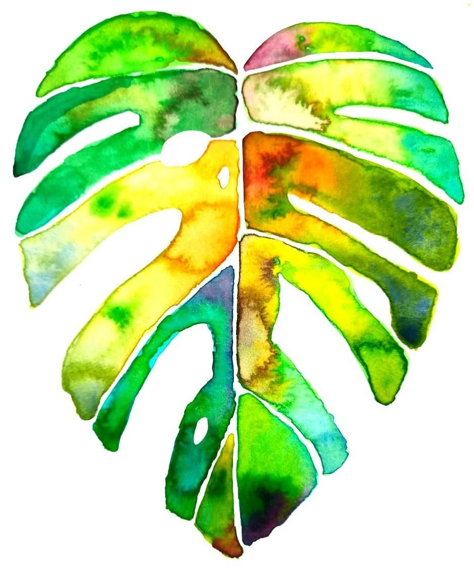 Botanical watercolors painting - image 2 - student project