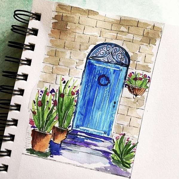My little doors (8x11) - image 1 - student project