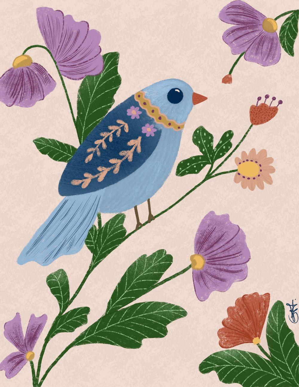 garden bird - image 1 - student project