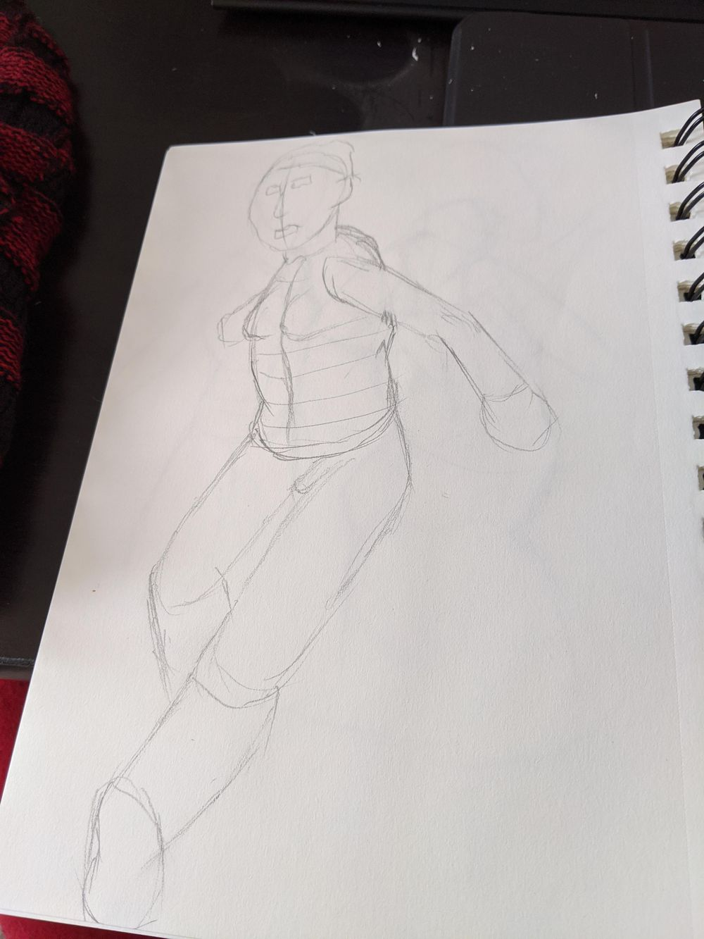 1st time trying the timed drawing section - image 3 - student project