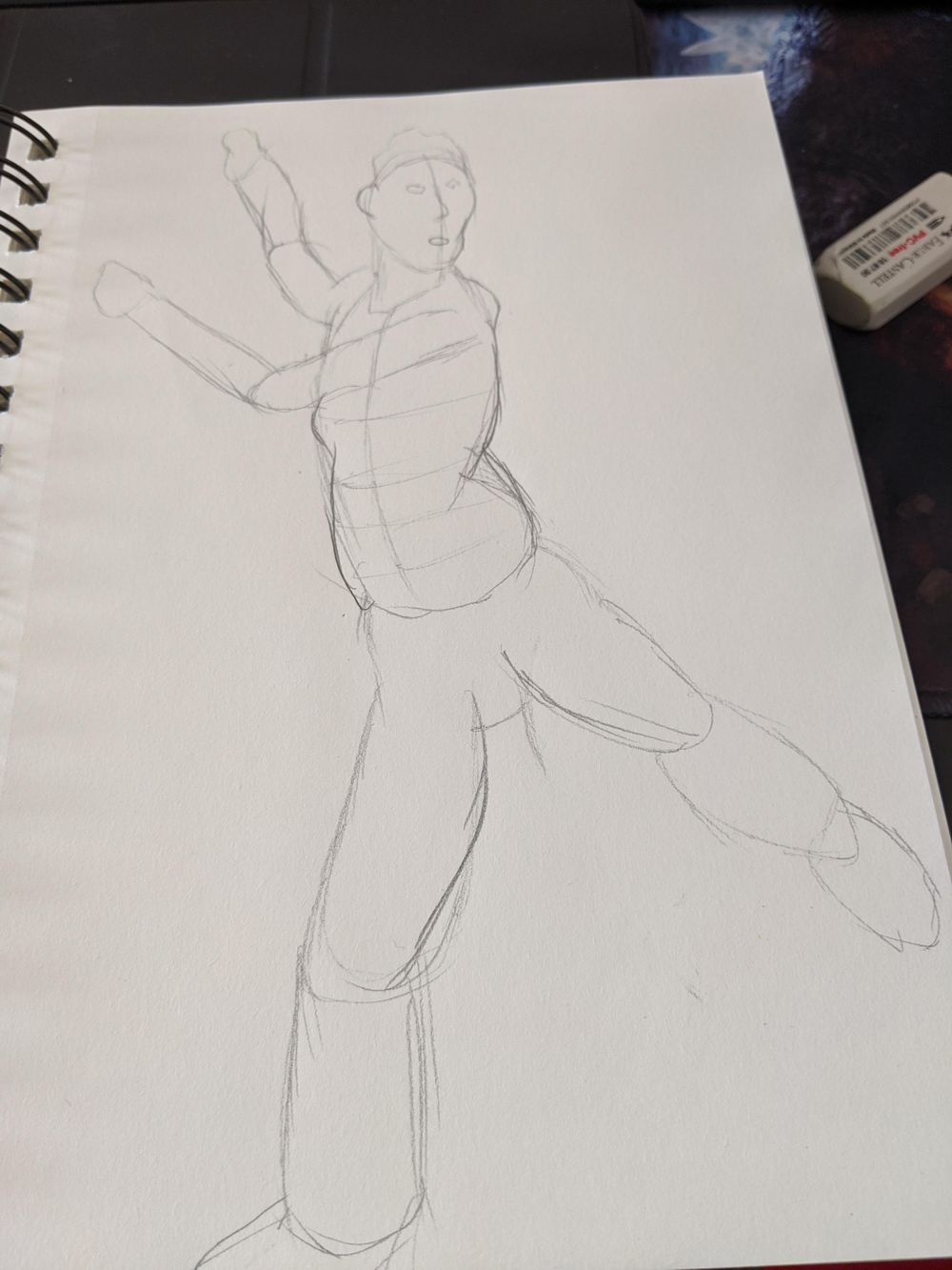 1st time trying the timed drawing section - image 4 - student project