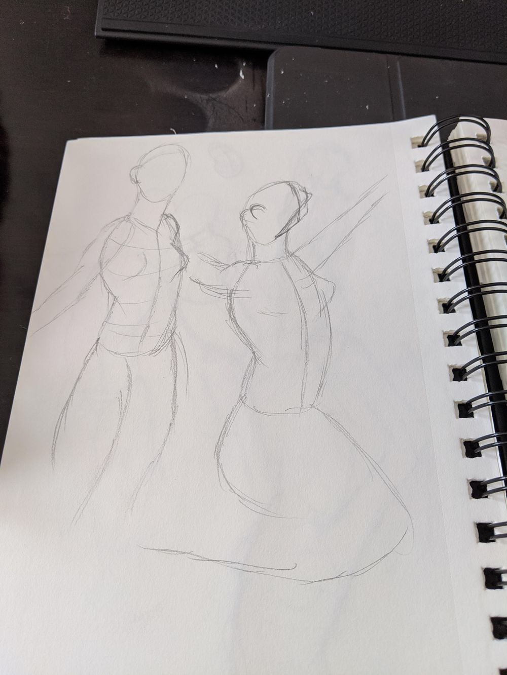 1st time trying the timed drawing section - image 1 - student project
