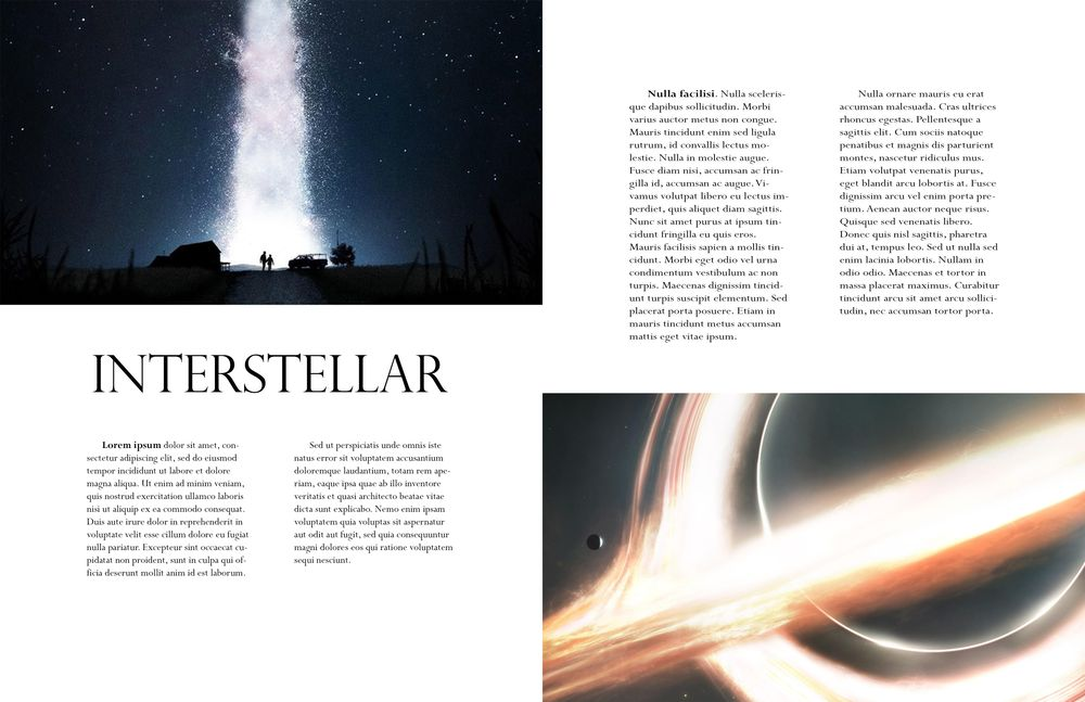 Interstellar - image 1 - student project
