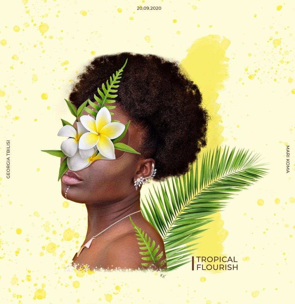 Tropical Flourish - image 2 - student project