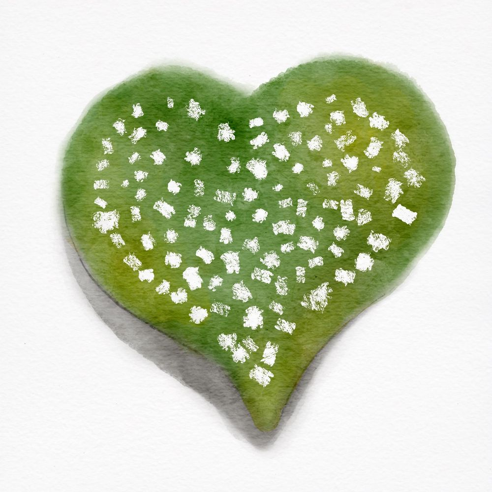 Watercolour Hearts - image 5 - student project