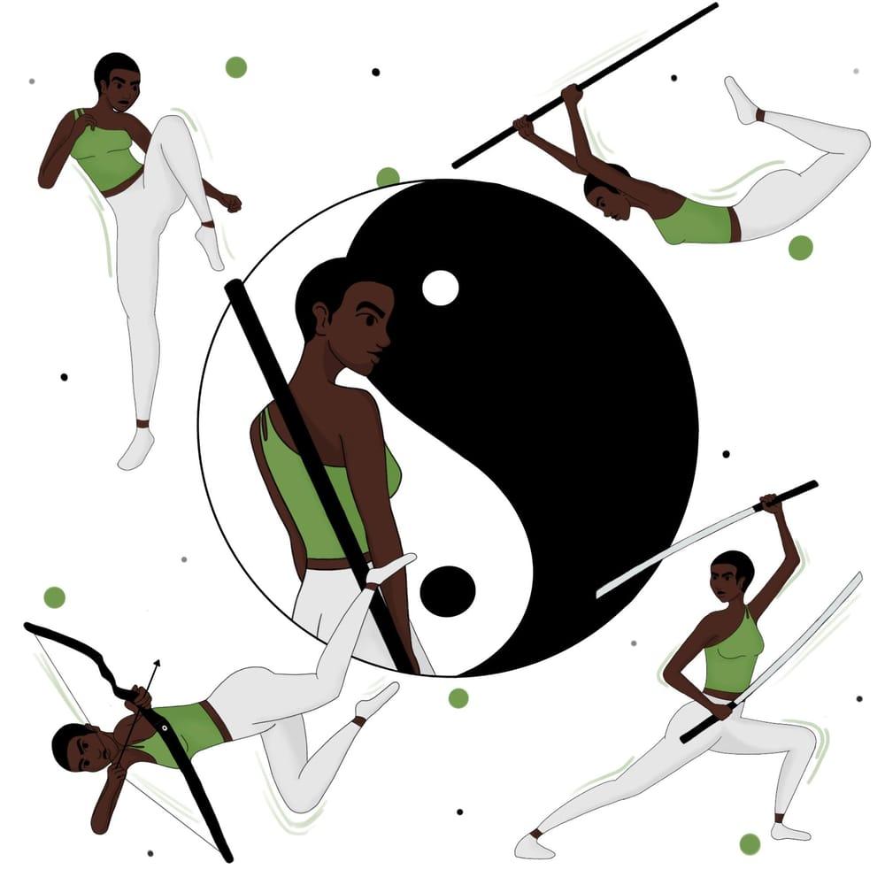 Zen Warrior - image 1 - student project