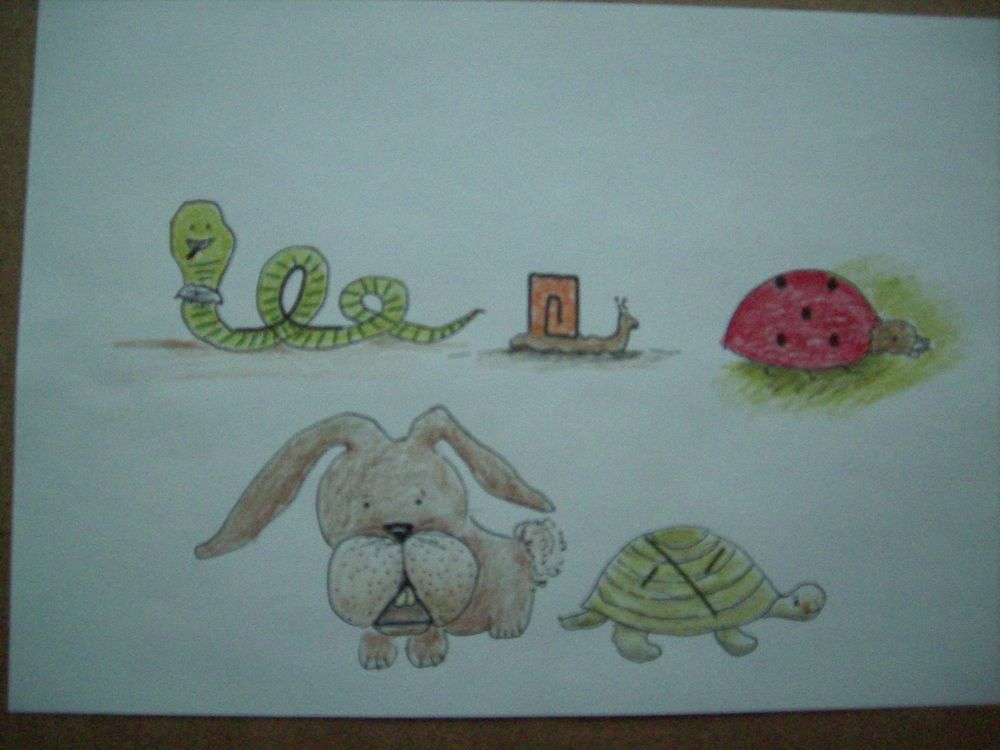 Doodle with Shapes &  Stories - image 2 - student project