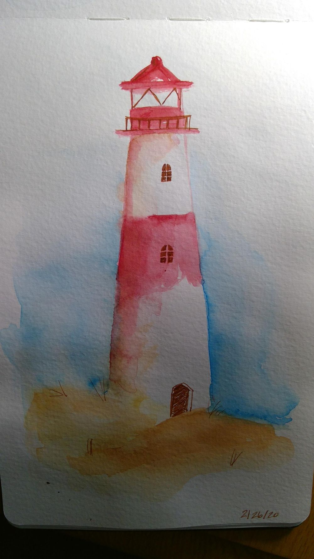 Amy Lagers Lighthouses - image 1 - student project