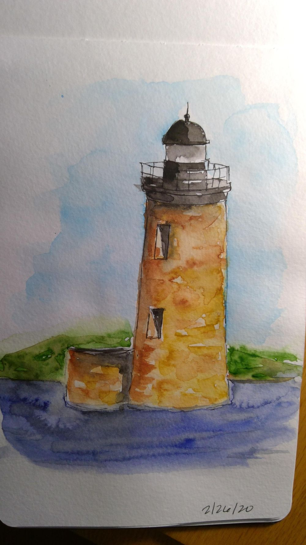 Amy Lagers Lighthouses - image 3 - student project