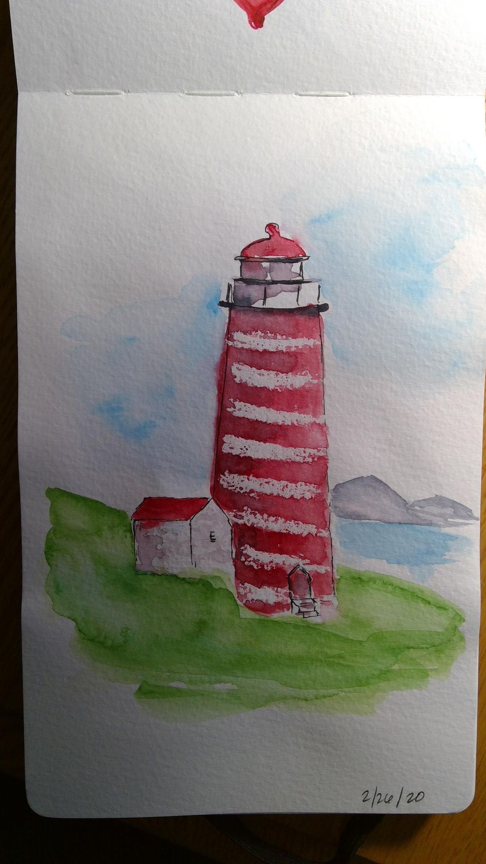 Amy Lagers Lighthouses - image 2 - student project