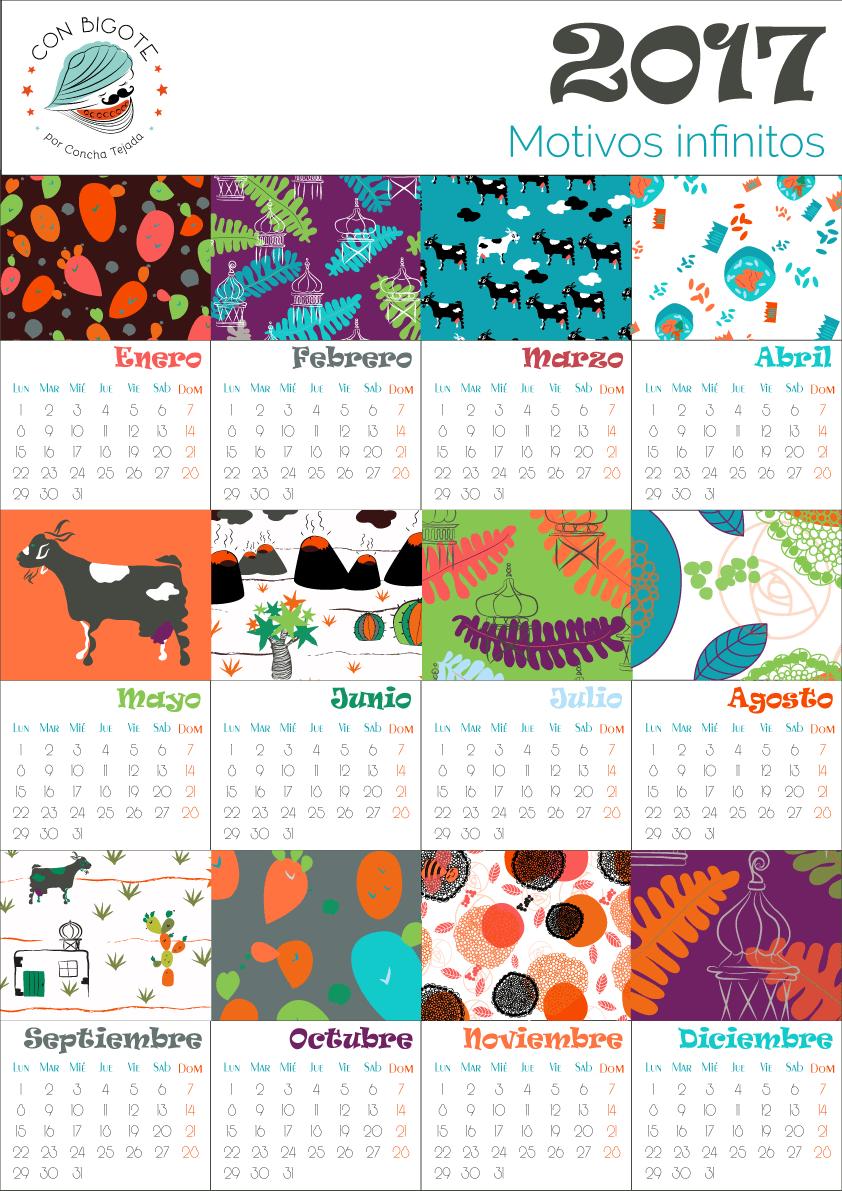 A 2017 Festive Calendar! - image 1 - student project