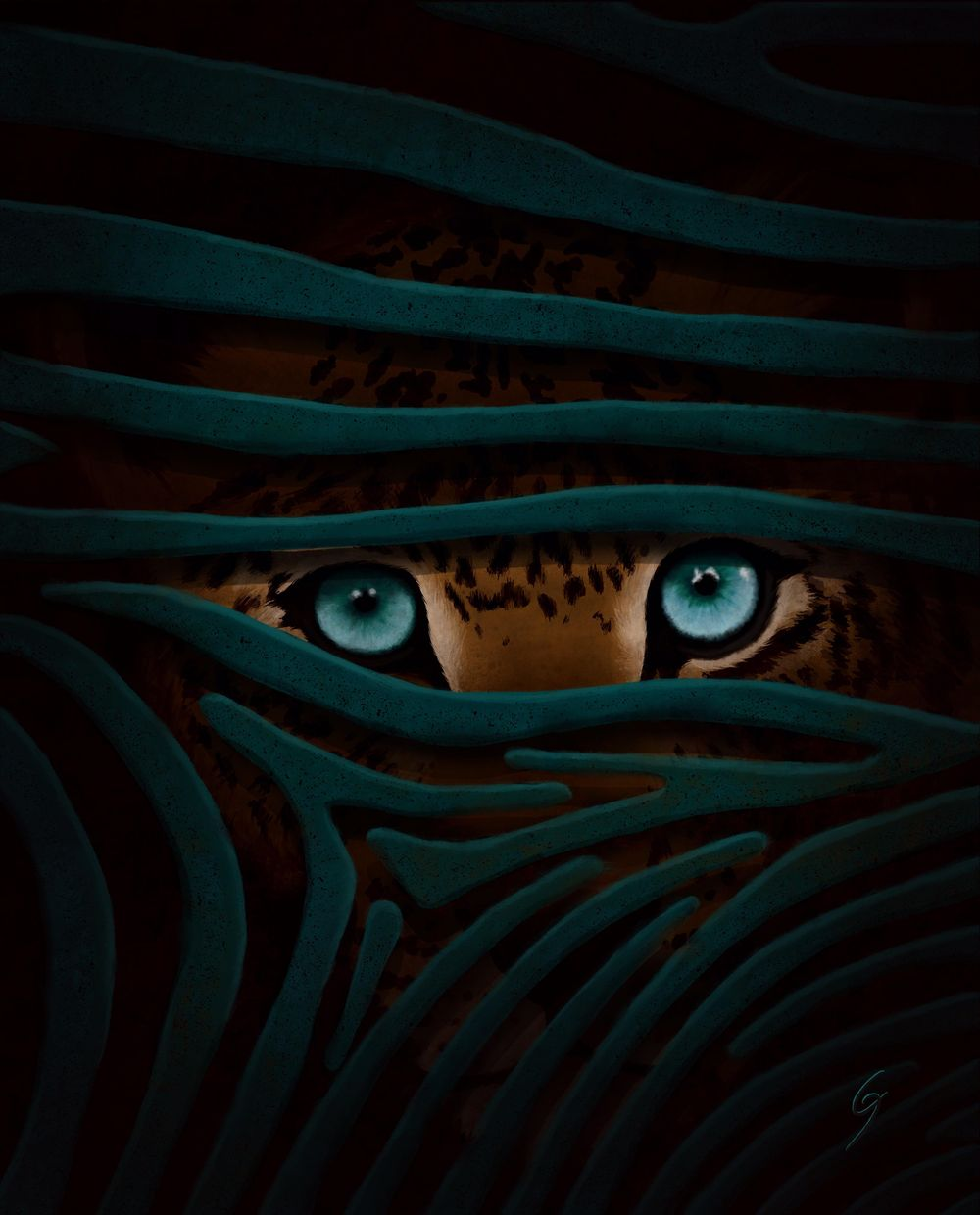 Jungle Eyes - image 1 - student project