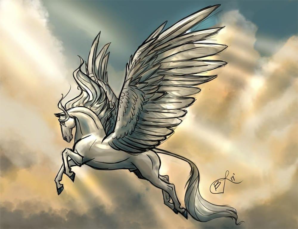 Palette Practice: Pegasus  - image 2 - student project