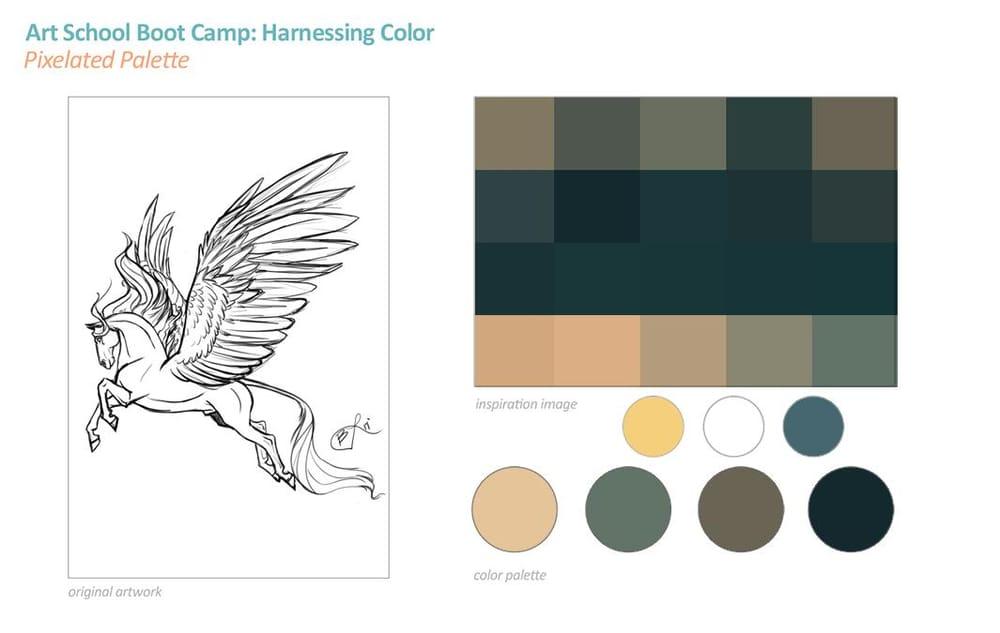 Palette Practice: Pegasus  - image 1 - student project