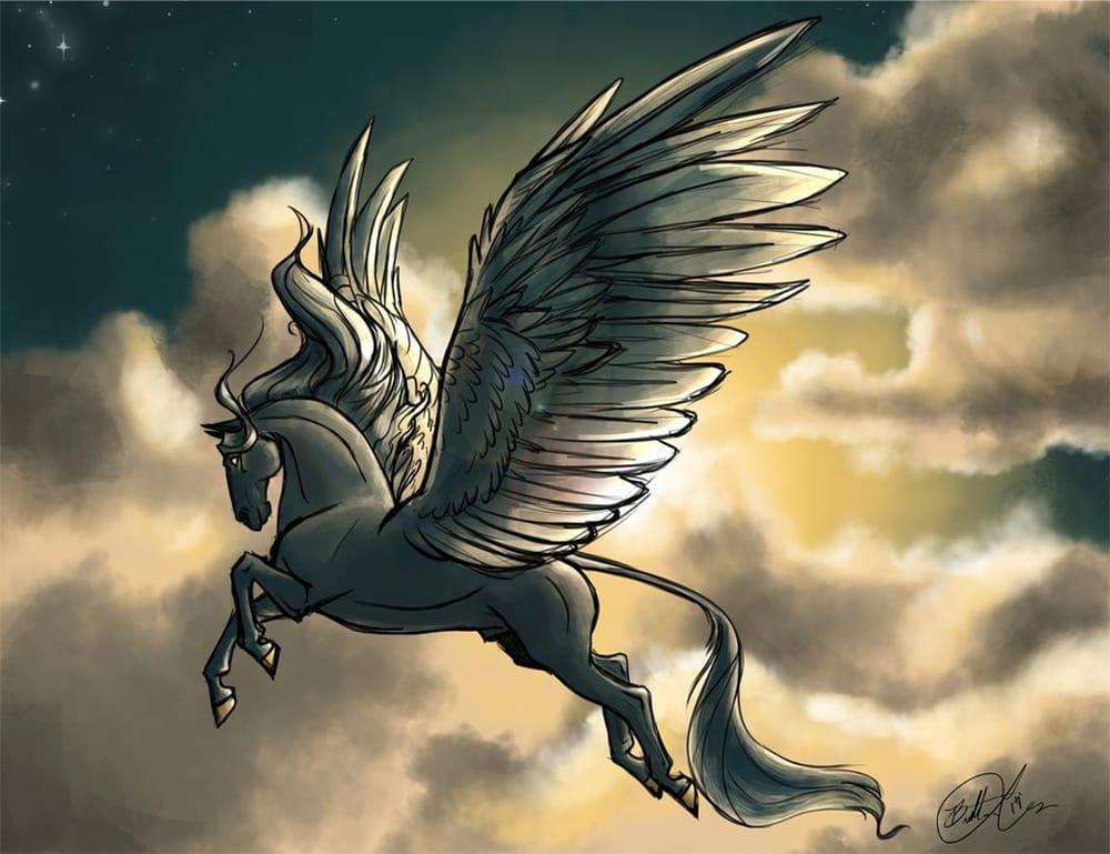 Palette Practice: Pegasus  - image 3 - student project