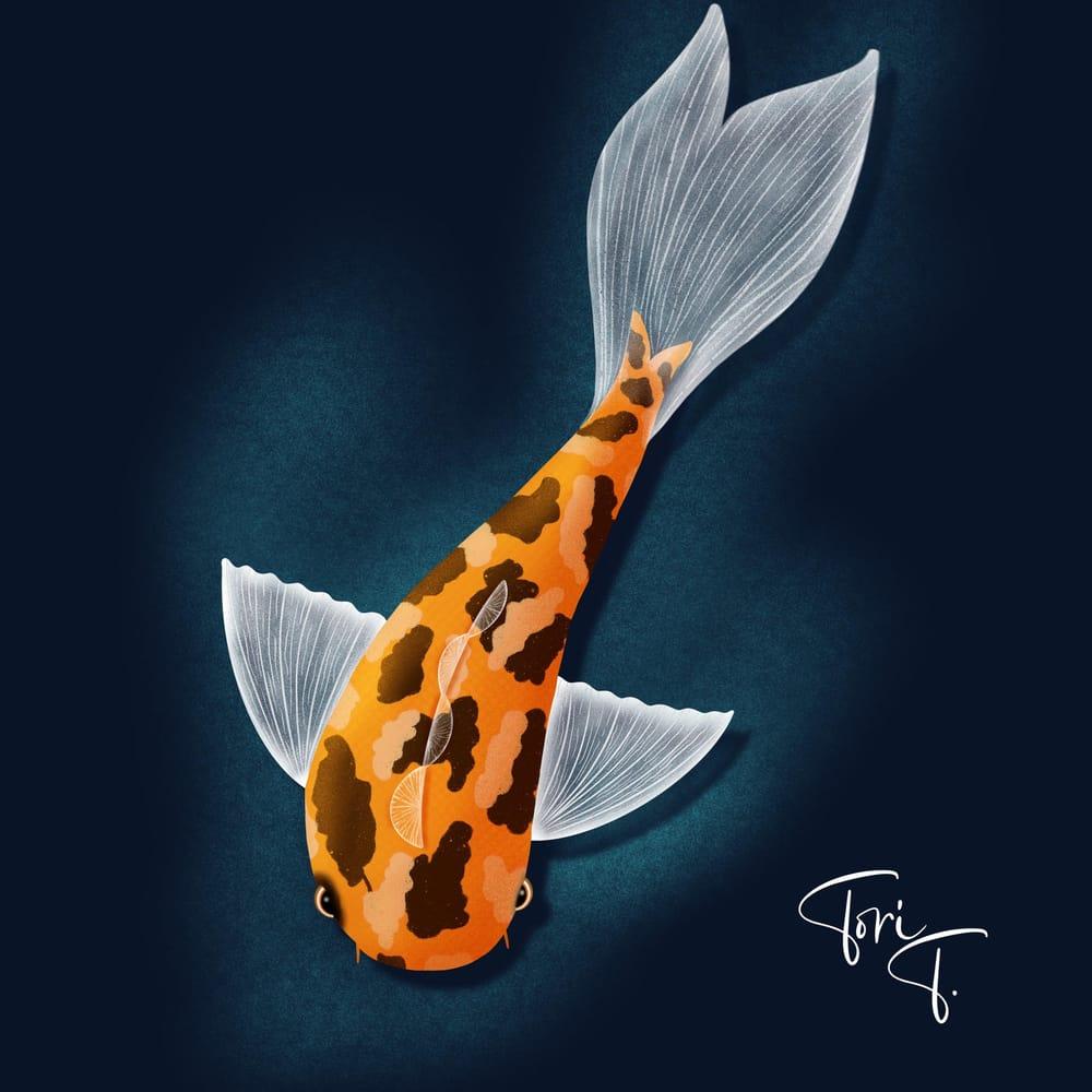 Koi Fish - image 1 - student project