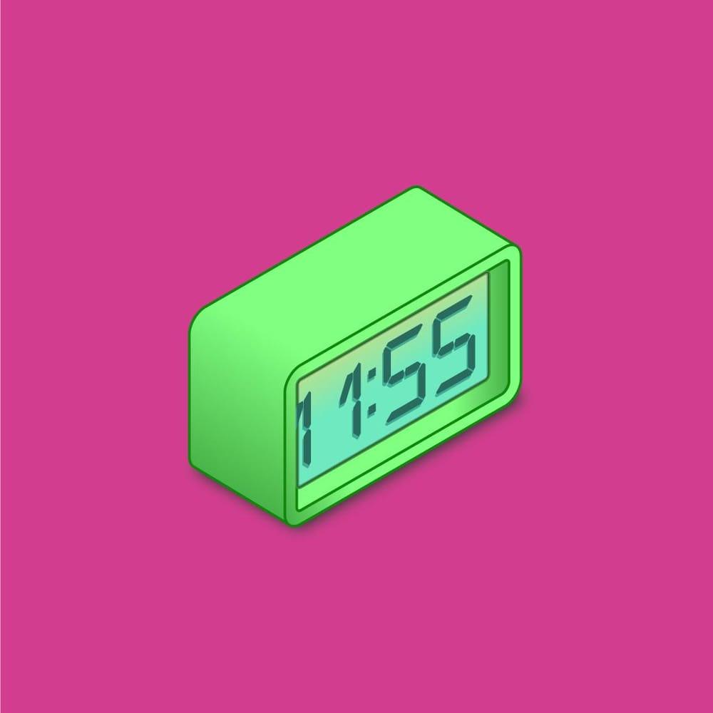 My little digital clock - image 1 - student project