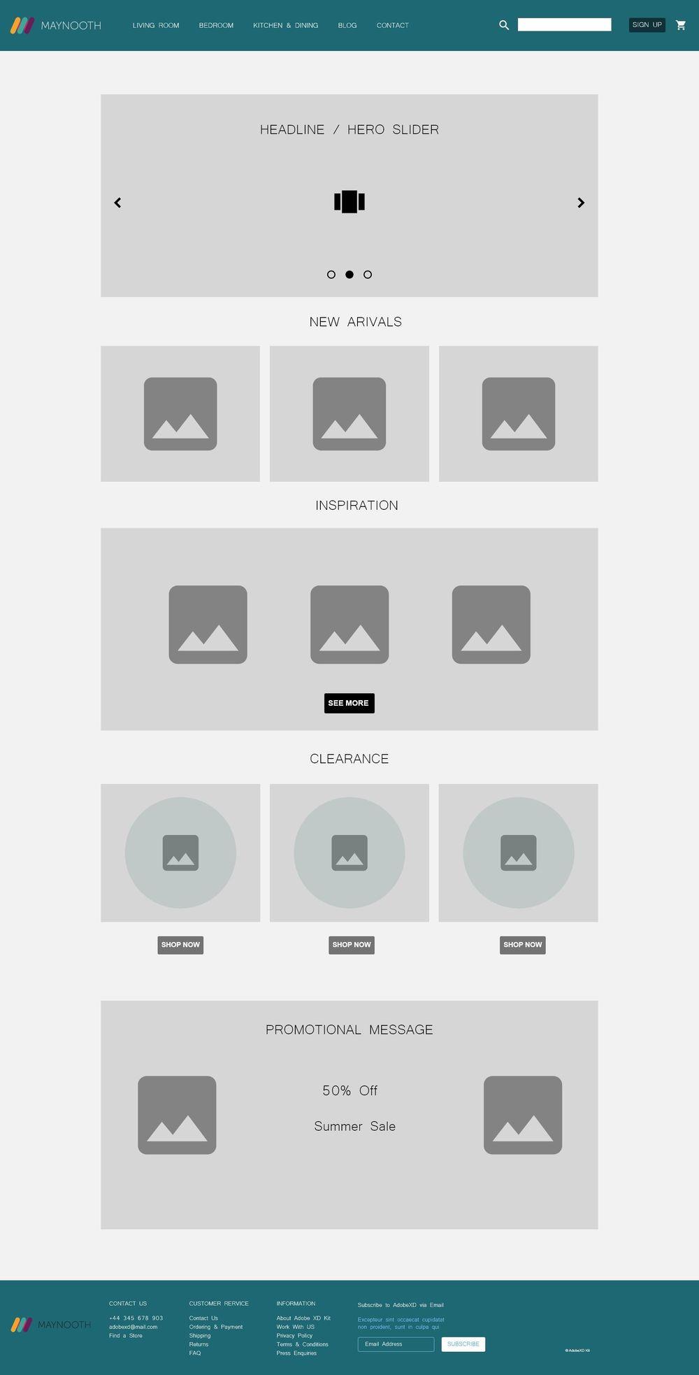 UI UX Design - image 1 - student project
