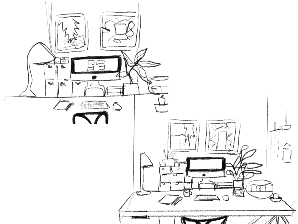 My ideal working space - image 3 - student project