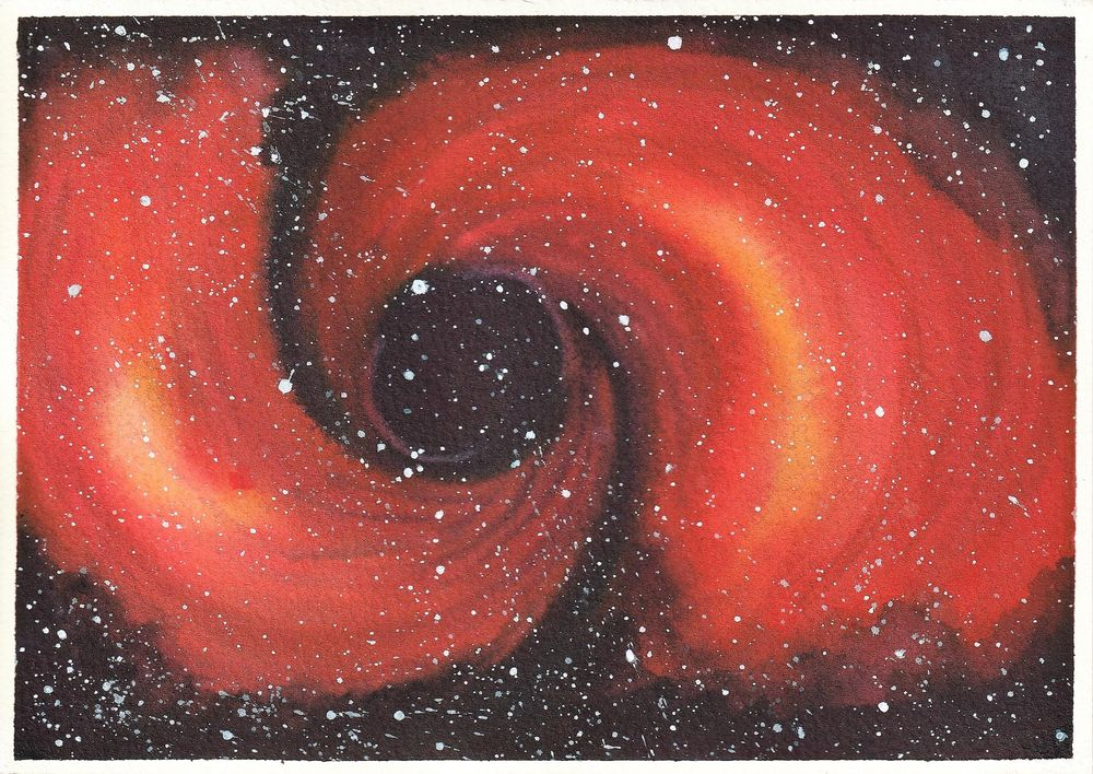 Watercolour Galaxies: Shapes - image 2 - student project